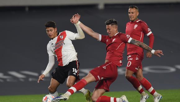 River Plate igualó 1-1 con Huracán por la cuarta jornada de la Copa de la Liga Profesional en el estadio Monumental. (Foto: River)