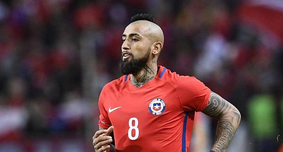 Arturo Vidal desmintió rumores sobre nueva lesión en rodilla derecha