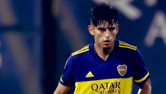 Carlos Zambrano puso el 1-1 parcial en el duelo entre  Boca Juniors e Independiente. (Foto: Boca Juniors)