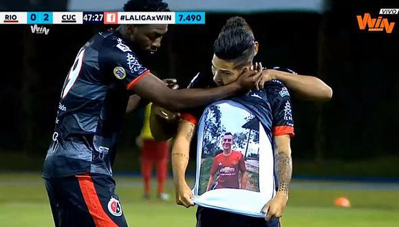 Colombia: Jugador dedicó doblete a su hermano asesinado y la Liga Águila lo sancionó | VIDEO