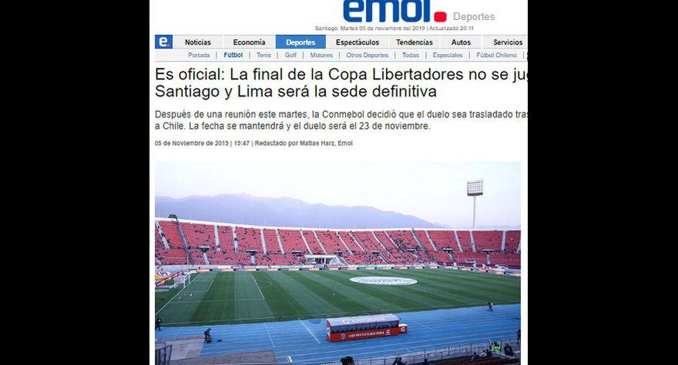 Emol (Chile).