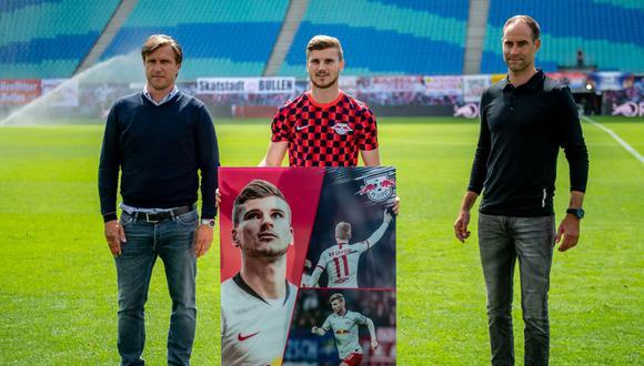TImo Werner se despidió del RB Leipzig. (Foto: RB Leipzig)