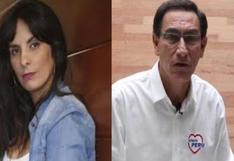 """Elecciones: Carla García recuerda en Instagram cuando dijo que Vizcarra """"tenía las manos sucias"""""""