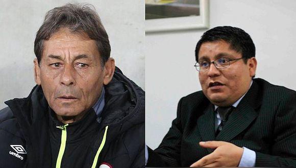 Universitario: Roberto Chale tuvo altercado con dirigentes en última reunión en el estadio Monumental | VIDEO