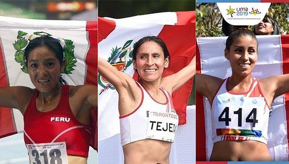 Inés Melchor, Gladys Tejeda y Kimberly García sacan medallas en los ODESUR
