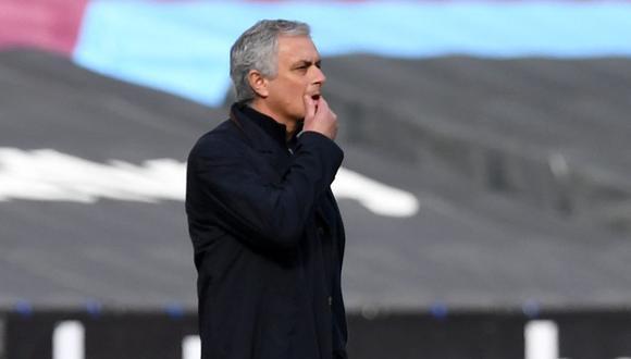 José Mourinho fue despedido de Tottenham. (Foto: AFP)