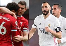 Ver Real Madrid vs. Liverpool en vivo: dónde y cómo ver el partido de cuartos de final de la Champions League