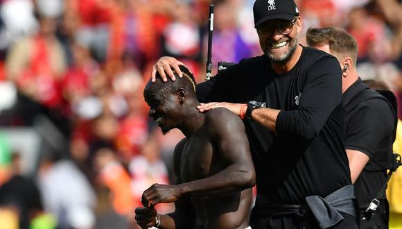 Mané finalmente llegó a Liverpool tras brillar con Southampton en la Premier League. (Foto: AFP)