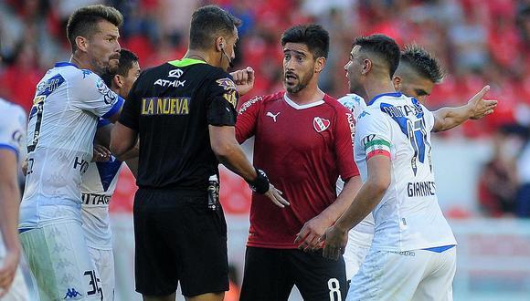 """Vélez - Independiente: El historial positivo del equipo de Luis Abram ante el """"Rojo""""    FOTO"""