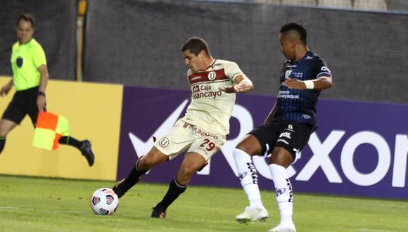 Cremas derrotaron al cuadro ecuatoriano (Foto:Universitario)