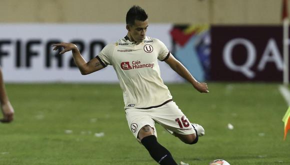 Universitario de Deportes vs Carabobo FC de Venezuela por la 1ra fase de la Copa Libertadores 2020 en el Estadio Monumental de Ate. Ivan Santillan.