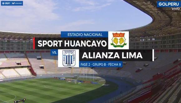 GOLPERU, en vivo | Alianza - Huancayo online por la última fecha de la Liga 1