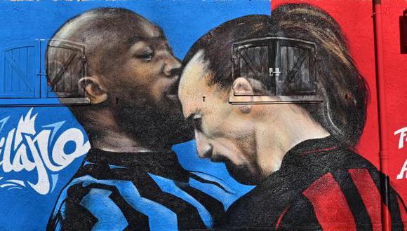 Lukaku e Ibrahimovic protagonizaron un tenso cruce en choque por la Copa Italia en enero pasado. (Foto: AFP)