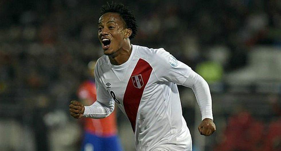 Selección peruana: Así volverá André Carrillo a la blanquirroja