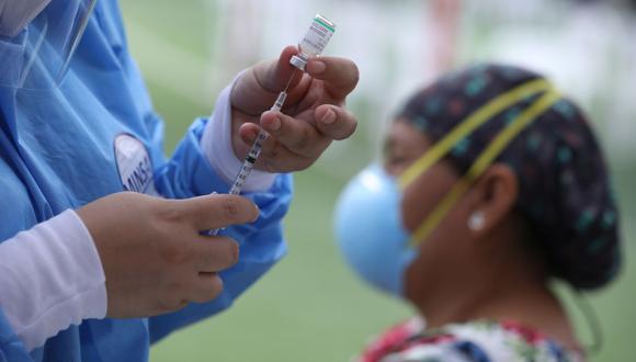 Minsa prevé vacunar a 5 millones 900 mil peruanos hasta julio, de acuerdo a la llegada de vacunas. (Foto: Britanie Arroyo/ GEC)