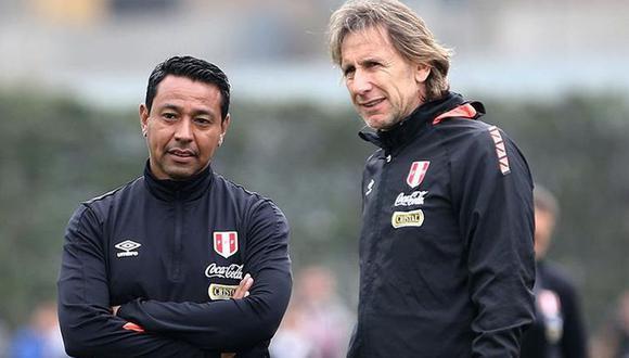 Nolberto Solano es asistente técnico de Ricardo Gareca en la selección peruana