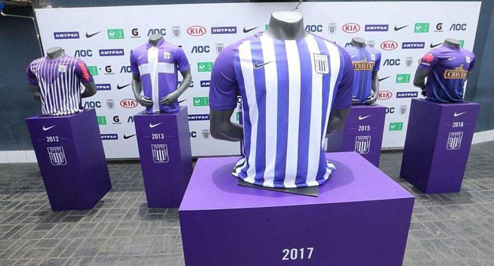 Alianza Lima y el posible diseño de la camiseta 'blanquimorada'