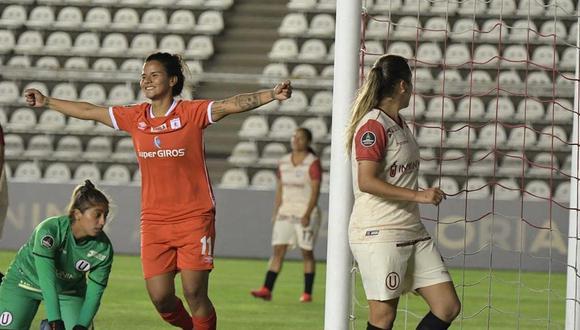 Universitario cayó por 5-0 en su debut en la Copa Libertadores Femenina 2021. (Foto: Copa Libertadores Femenina)