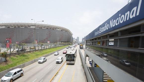 Esta es la vía exclusiva de los buses del Metropolitano y está prohibido la circulación de vehículos particulares. (Municipalidad de Lima)