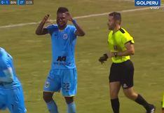 César Vallejo vs. Binacional   Aldair Rodríguez saca remate imparable y pone el 1-0 en Trujillo   VIDEO