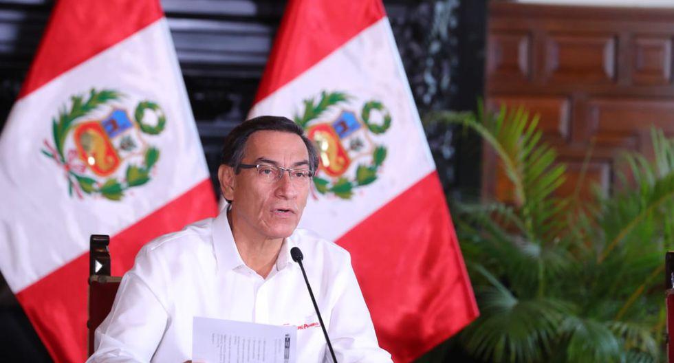 El presidente de la República indicó que las facultades les permitirán tomar medidas adicionales contra el avance del coronavirus (Foto: Presidencia).