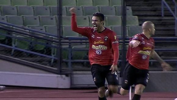 Eduardo Fereira marca gol histórico de Caracas FC ante Melgar