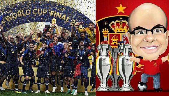 Mister Chip anuncia hecho histórico en próximo ranking FIFA