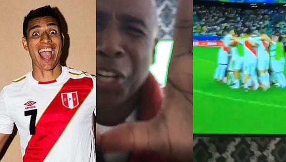 Selección peruana: así vibró Paolo Hurtado con el 'Cuto' Guadalupe la clasificación de Perú | VIDEOS