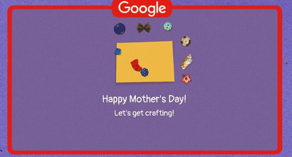 Google | Por el Día de la Madre puedes crear una tarjeta con este Doodle | poema a la madre pablo neruda | frases a la madre Trends | El Bocón