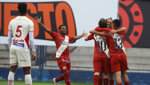 Universitario venció 1-0 a UTC con gol de Hernán Novick por la segunda fecha de la Fase 2 de la Liga 1.