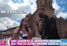 Gino Assereto fue 'choteado' por quinceañera que rechazó que sea su chambelán