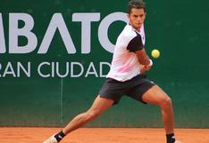 Juan Pablo Varillas a paso firme: llegó a semifinales del ATP Challenger Tour de Ambato