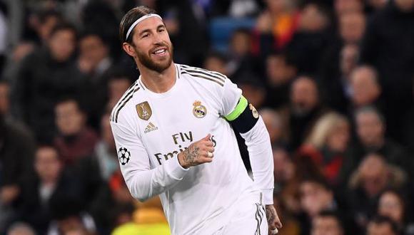 Sergio Ramos anotó el tercer gol de Real Madrid en duelo ante Galatasaray. (Foto: AFP)