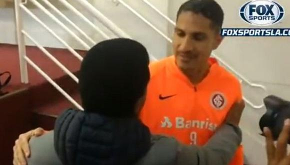 Internacional vs. Athletico Paranaense | El afectuoso abrazo entre Paolo Guerrero y Julio César Uribe | VIDEO