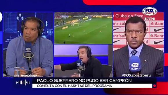 Eddie Fleischman y Flavio Maestri protagonizan acalorada discusión por final perdida de Paolo Guerrero | VIDEO