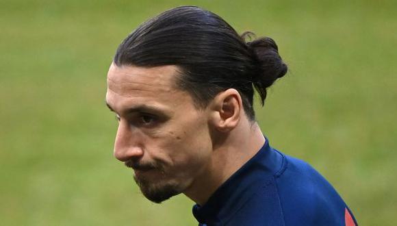 Zlatan Ibrahimovic volvió a jugar con el AC Milan el domingo tras cuatro meses. (Foto: AFP)