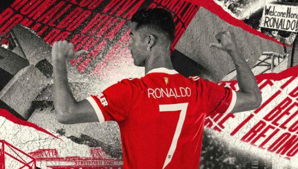 Cristiano Ronaldo se prepara para debutar con Manchester United en la Premier League. (Foto: Manchester United)