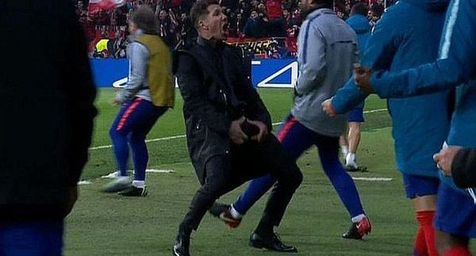 UEFA abrió proceso disciplinario contra Diego Simeone
