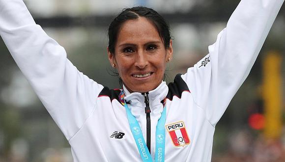 """Lima 2019   Gladys Tejeda se confiesa tras ganar el oro: """"Lavo mis zapatillas para botar el estrés""""   VIDEO"""