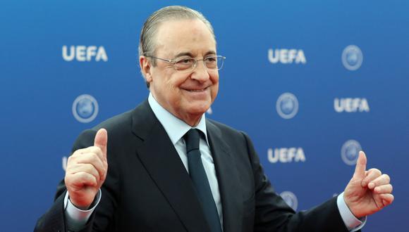 Pérez tiene más de 17 años como presidente de Real Madrid. (Foto: AFP)