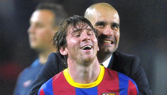 Manchester City: equipo inglés va por Lionel Messi y Guardiola. FOTO: Archivo