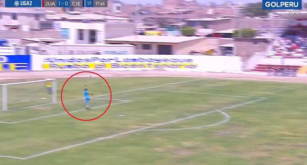 Juan Aurich vs. Cienciano: revive el golazo de Jair Córdova desde la media cancha en la Liga 2 | VIDEO