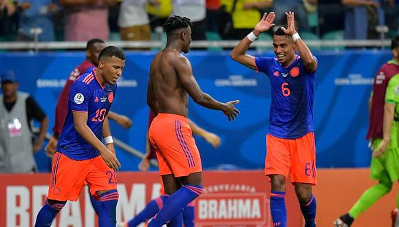 Colombia venció 2-0 a Argentina con Lionel Messi en su debut de la Copa América 2019