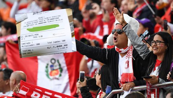 La 'Bicolor' paga bien si le gana esta noche a Brasil, por ello, un hincha le ha apostado 1000 soles a un triunfo peruano en Río de Janeiro.