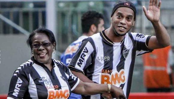 Falleció la madre de Ronaldinho Gaúcho víctima del coronavirus. (Foto: Atlético Mineiro)