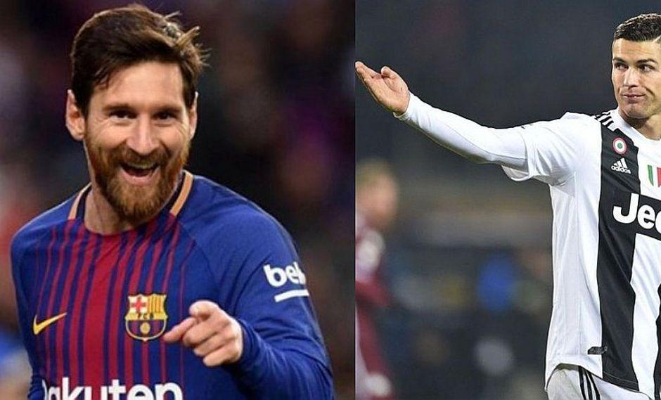 Contundente respuesta de Messi a Cristiano tras pedirle que vaya a la Serie A