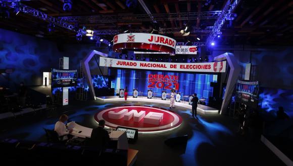 Hoy lunes 29 se realizará el primer debate organizado por el Jurado Nacional de Elecciones (JNE). FOTO: GEC