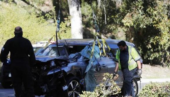 Tiger Woods: no habrá cargos tras accidente. FOTO: EFE