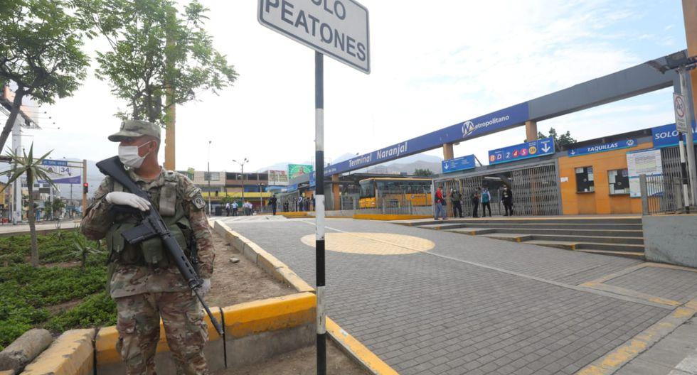 Este domingo 5 de abril solo podrán transitar personas con el pase laboral (permiso especial) | Foto: GEC