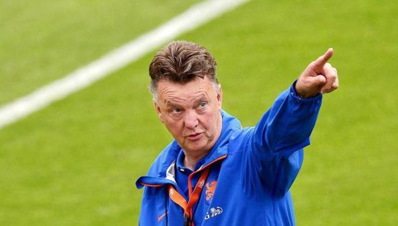 Louis Van Gaal  es el actual entrenador de Países Bajos. (Foto: Agencias)